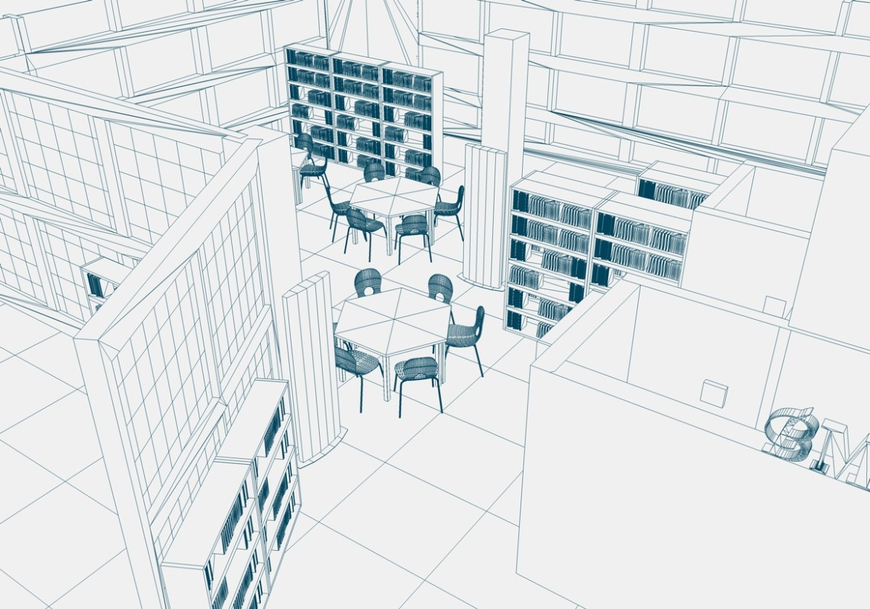 Biblioteca Municipal 3D