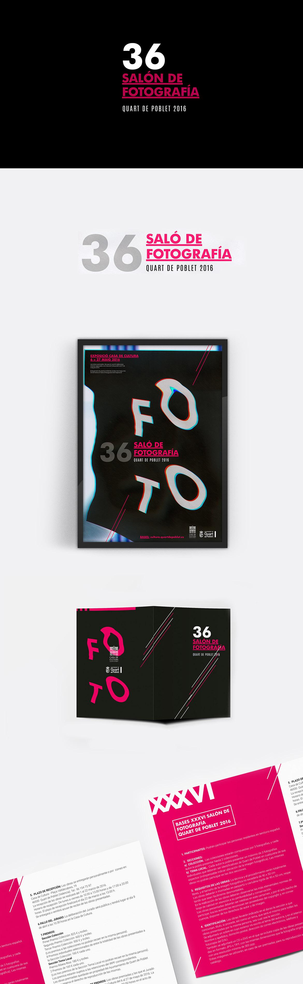 Cartel y folleto para Concurso de fotografía