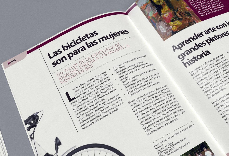 Maquetación y Diseño de la Revista Municipal de Quart de Poblet