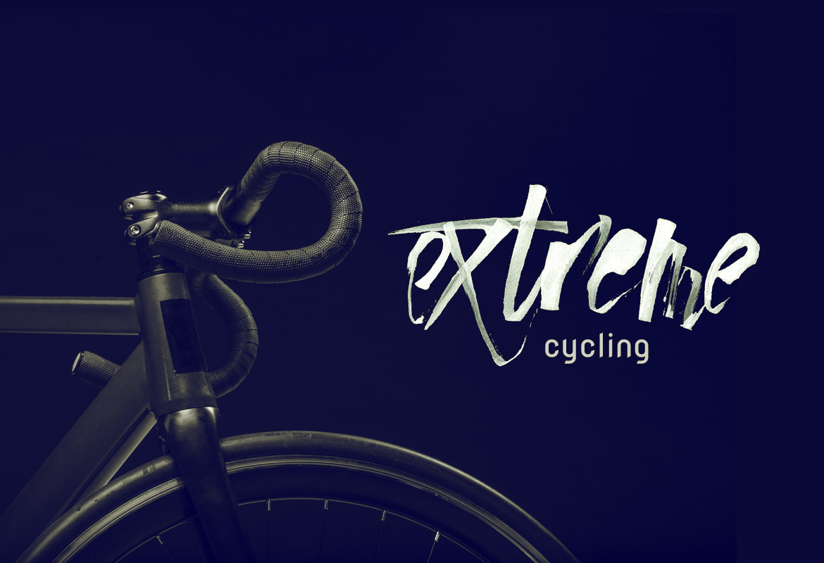 Lettering Cycling Diseño Valencia