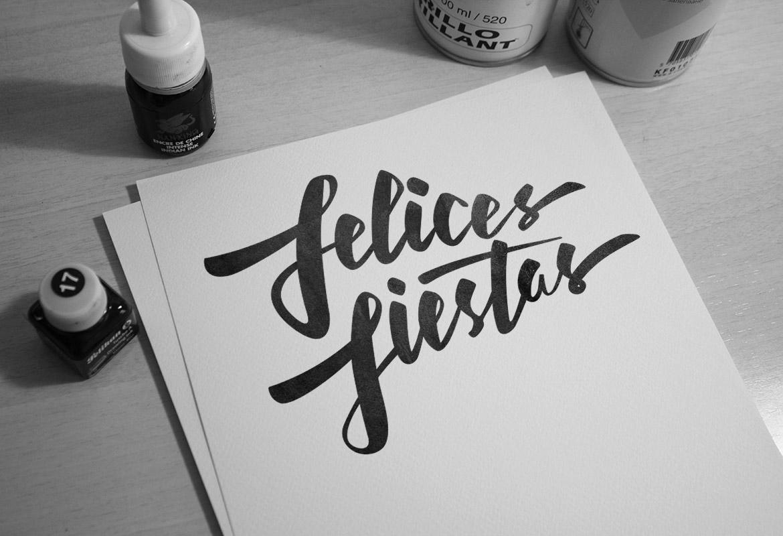 Diseño Lettering Locandia Valencia