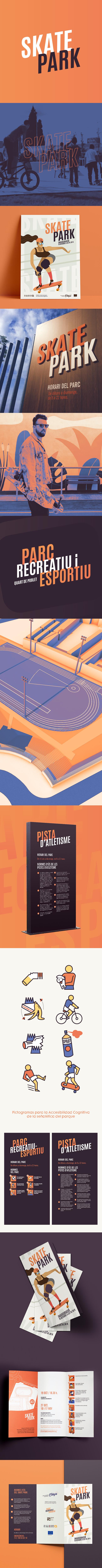 Proyecto de branding, diseño gráfico e ilustración del SkatePark de Quart de Poblet