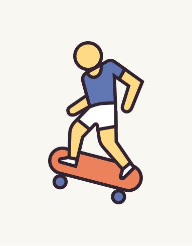 Proyecto de branding, diseño gráfico e ilustración del SkatePark de Quart de Poblet, Valencia. Diseño gráfico, skate Valencia.