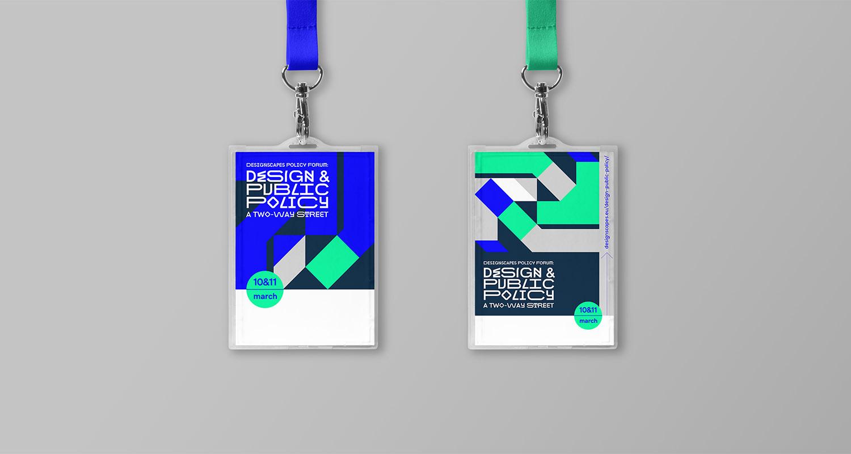 Designscapes PolicyForum Lanyard,